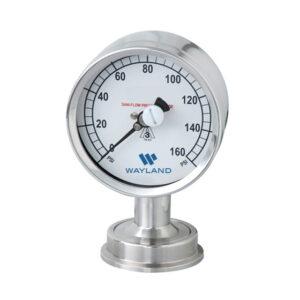 3A Sanitary Pressure Gauges