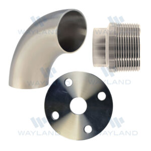 Unpolished Fittings and Flanges